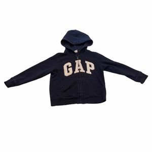 Gap Logo Zip Up Hoodie Toddler Size 5